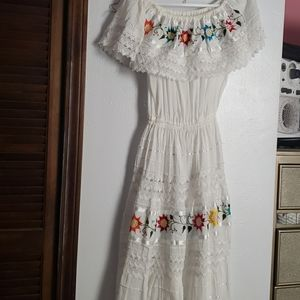 Very cute dress From Zacatecas Mexico .